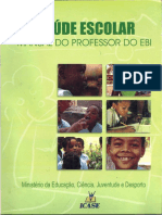 Manual Do Professor Do EBI-Saúde Escolar-Min Educ, Ciencia, Juventude e Desporto-Cabo Verde