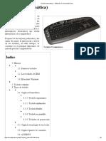 Teclado (Informática) - Wikipedia, La Enciclopedia Libre