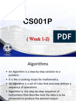 Wk 1a Algorithm Psuedocode