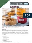 Crudipaté de Champiñones y Pipas de Girasol