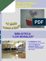 PRESENTACIÓN BIBLIOTECA LOS MORALES