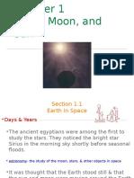 Earth Moon and Sun Powerpoint