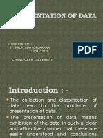 Presentation of Data (QT)