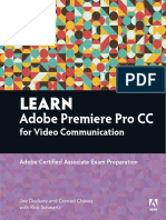 Learn Adobe Premier Cc for Video Communication