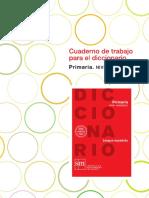 Cuaderno de Trabajo Para El Diccionario Primaria Avanzado_c_124849