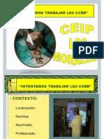 1 PRESENTACIÓN COMPETENCIAS BÁSICAS. ABRIL CEIP LOS MORALES 2007-10