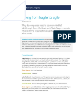 The McKinsey Podcast From Fragile to Agile