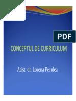Curriculum Introducere