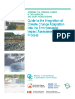 Guide to the Integration of Climate Change Adaptation Into EIA