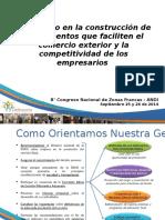 Aportando en La Construcción de Instrumentos Que Faciliten El Comercio Exterior y La Competitividad de Los Empresarios