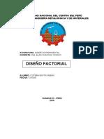 Diseño Factorial Cotera