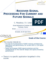 GNSS Signal Processing for Current and Future Signals