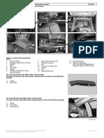 W169Remove Install Center Console
