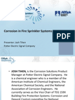 Corrosion in Fire Sprinkler Systems-JOSH TIHEN