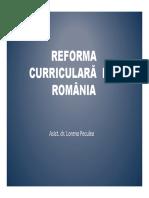Reforma Curriculara