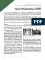BEMF Optimization BLDC Delta Winding