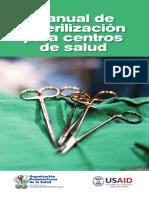 Manual Esterilizacion Ops