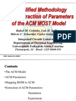 607 ACM Extraction Parameters