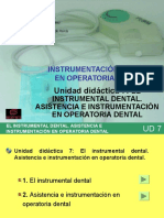 UD VII - El Instrumental Dental