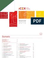 ICEX Memoria Anual 2015