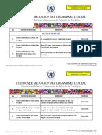 Listado Centros de Mediacin Para Pg Oj