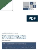 German Banking System - analysis by Behr Schmidt (SAFE)