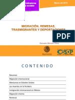 Carpeta 33 Migracion y Remesas