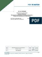 Casa de Maquinas - Memoria de Estabilidad y Calculo Estructural - Bloque de Anclaje de La Trifurcacion