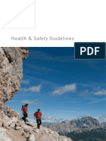 Health Safety Guidelines English