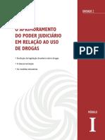 O Aprimoramento Do Poder Judiciário Em Relação Ao Uso de Drogas