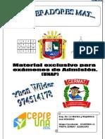 OPERADORES MATEMATICOS - RAZONAMIENTO MATEMATICO