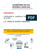 SESIÓN 2. Responsabilidad Corporativa de Los Stakeholders Externos