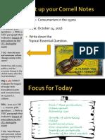 Day 4 - 2016 - Consumerism_auto - 1920s