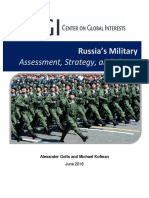 Russias Military Center on Global Interests 2016