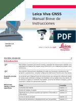 Leica Viva GNSS GettingStartedGuide Es