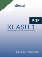 Guía Del Estudiante ELASH 1