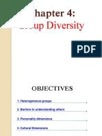 Chap 4 Group Diversity