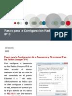 Pasos Para La Configuración Radios Ceragon IP10