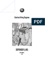 JLR 14 46 21_1E - Defender Electric Wiring Diagrams (LHD) - VIN 760595 Onwards