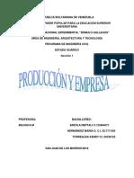 Empresa y Produccion Ing Economica