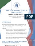 Metodologia Del Trabajos de Universidad
