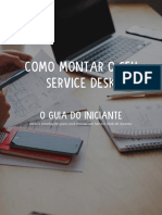 eBook Como Montar Um Service Desk o Guia Do Iniciante