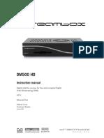 User Manual Dm500hd