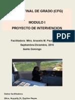 Cfg Uapa 13-09-16 - Presentacion Mtra. Aracelis Paulino