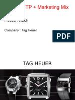 Tag Heuer Presentation