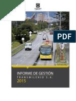 Informe de Gestion 2015 Vf