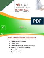 Segunda Clase - Problemas Ambientales Globales 2