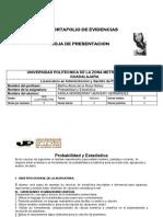 Ejercicios Probabilidad y estadística.