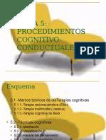 Ppt Procedimientos Cognitivo Conductuales Ellis y Beck