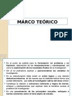 A Marco Teórico y Conceptual